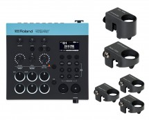 Roland TM-6 Pro Drum Trigger Module + 5x Roland RT30 Drum Triggers