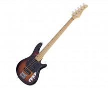 Schecter CV-5 5-String Bass Guitar - 3-Tone Sunburst