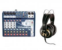 Soundcraft Notepad-12FX + AKG K 240 Studio