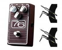 SolidGoldFX 76 Octave-Fuzz + Mogami Cables