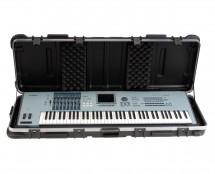 """SKB 1SKB-4214W 42"""" x 15"""" 61-Key ATA Keyboard Case w/ Wheels"""
