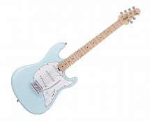 Sterling by Music Man CT30SSS-DBL-M1 S.U.B. Cutlass SSS in Daphne Blue