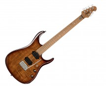 Sterling by Music Man JP150FM-ILB JP15 Signature in Flame Maple Island Burst - B-Stock