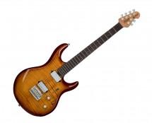 Sterling by Music Man LK100-HZB Luke Signature in Flame Maple Hazel Burst - Used