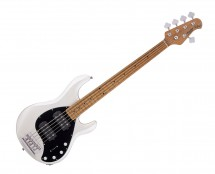 Sterling by Music Man RAY35HH-PWH-M2 StingRay5 HH Pearl White