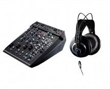 Solid State Logic Six + Semi-Open Mix Headphones