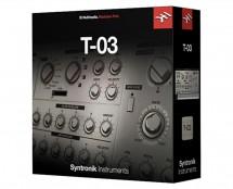 IK Multimedia Syntronik T-03 Synth (ProAudioStar.com)