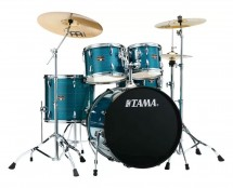 Tama Imperialstar 5-Piece Complete Drum Kit - Hairline Blue