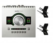 Universal Audio Apollo Twin USB + Mogami Cables