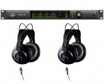 Universal Audio Apollo X16 Thunderbolt 3 + AKG K240 MKII