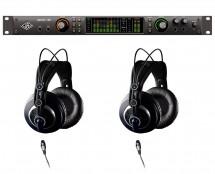 Universal Audio Apollo X8 Thunderbolt 3 + AKG K240 MKII