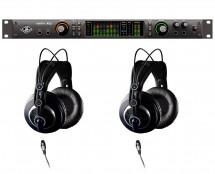 Universal Audio Apollo X8P Thunderbolt 3 + AKG K240 MKII