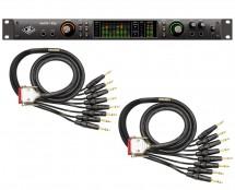 Universal Audio Apollo X8P Thunderbolt 3 + Mogami DB25 I/O Cabling