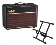 Vox AC10C1 + Gator Frameworks Amp Stand