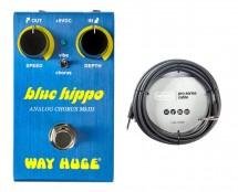 Way Huge WM61 Mini Blue Hippo + 20' Instrument Cable