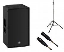 Yamaha DZR10 + Tripod Speaker Stand + Mogami Cable
