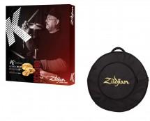 "ZIldjian KCH390 K Custom Hybrid Cymbal Set + FREE Zildjian 22"" Gig Bag"
