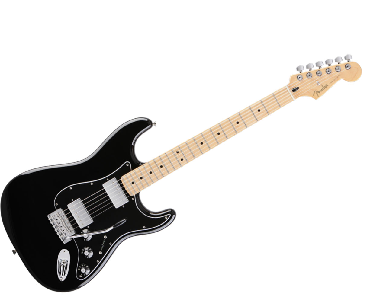 Fender Blacktop Stratocaster Hh Guitar Maple Black