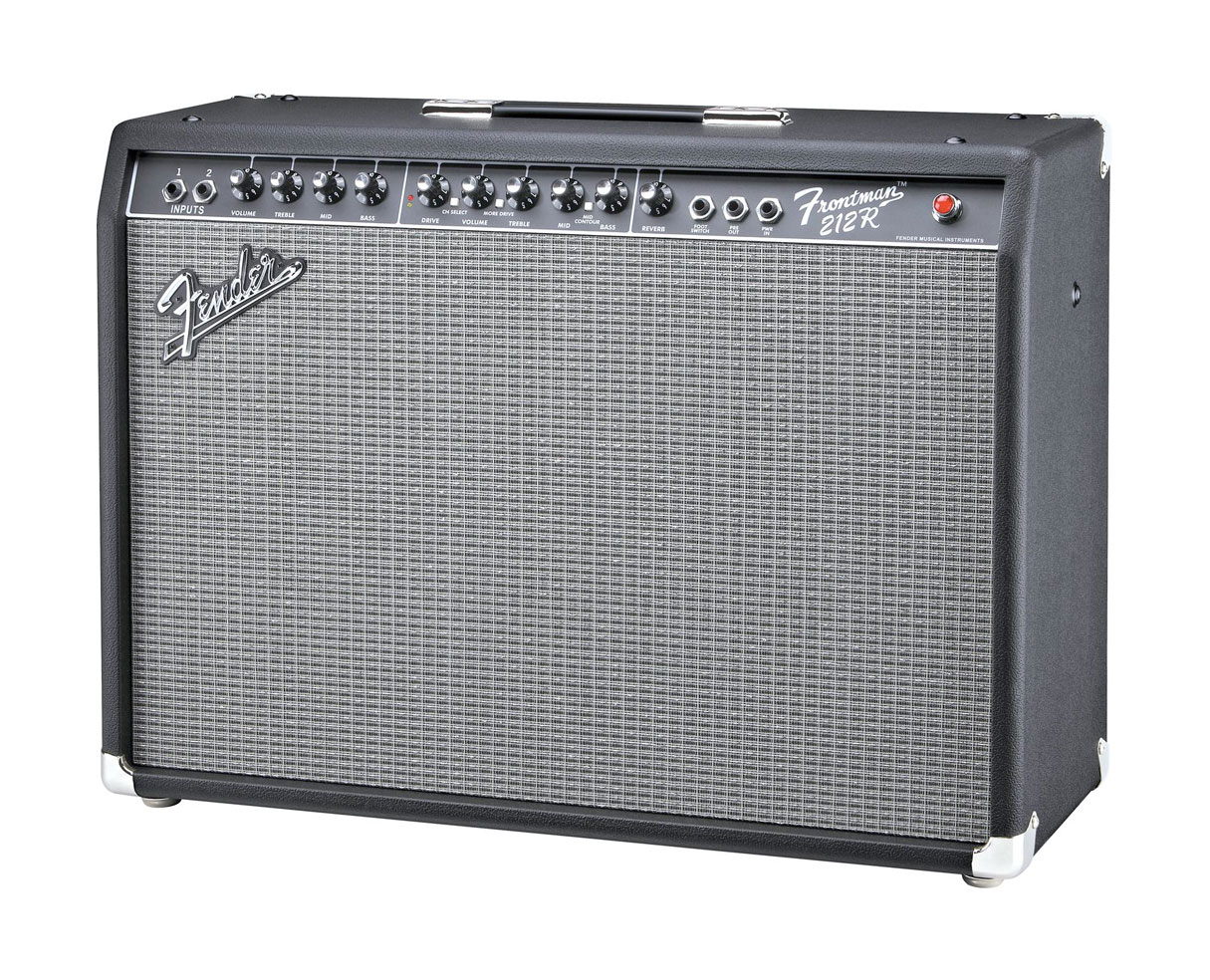fender frontman 212r 100w 2x12 guitar combo amp black proaudiostar. Black Bedroom Furniture Sets. Home Design Ideas