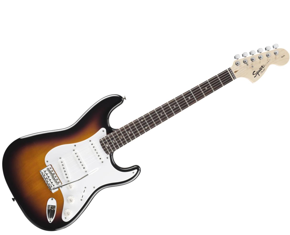 Fender Squier Affinity Series Strat Black
