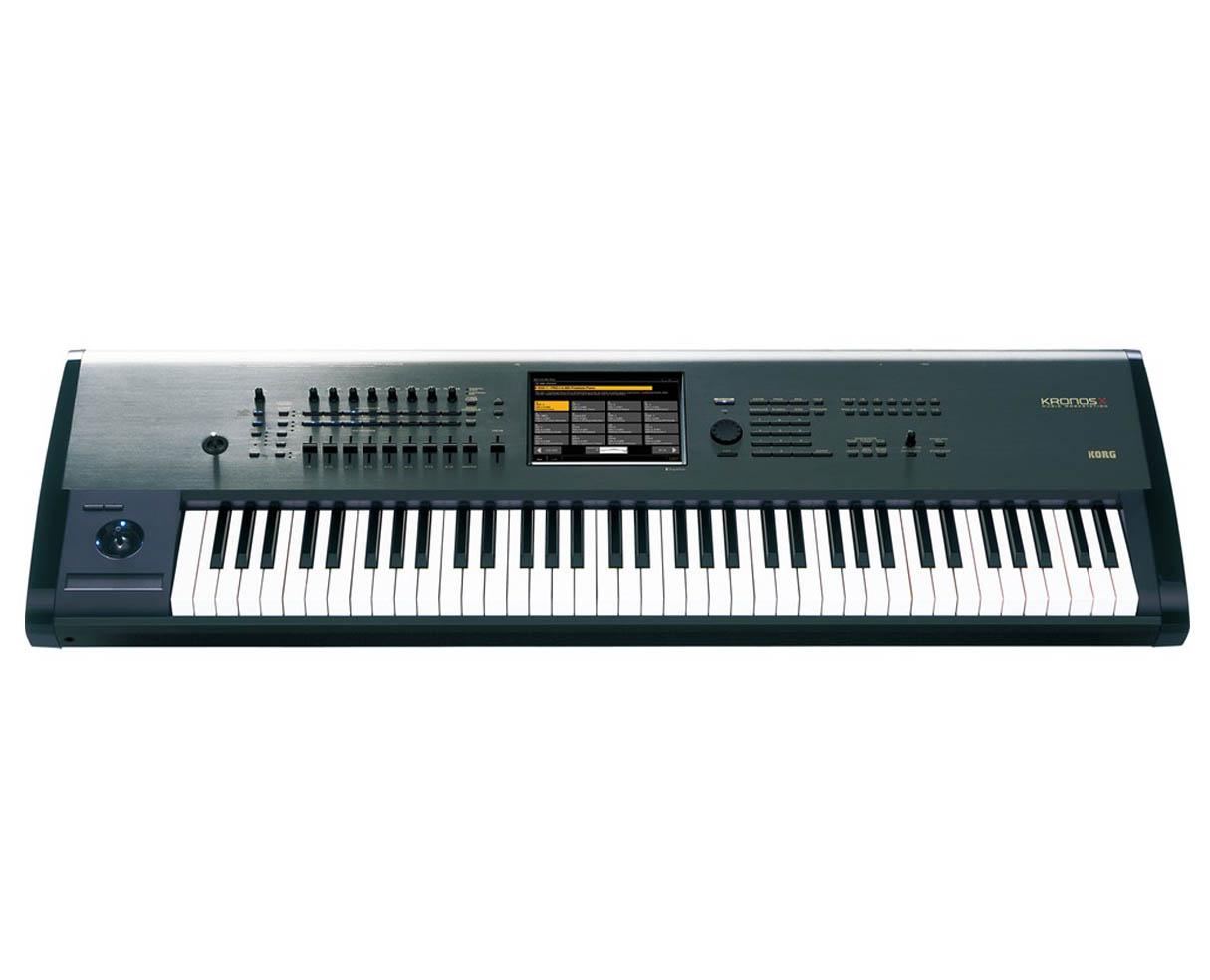 korg kronos x 73 keyboard synthesizer workstation 73 key proaudiostar ebay. Black Bedroom Furniture Sets. Home Design Ideas