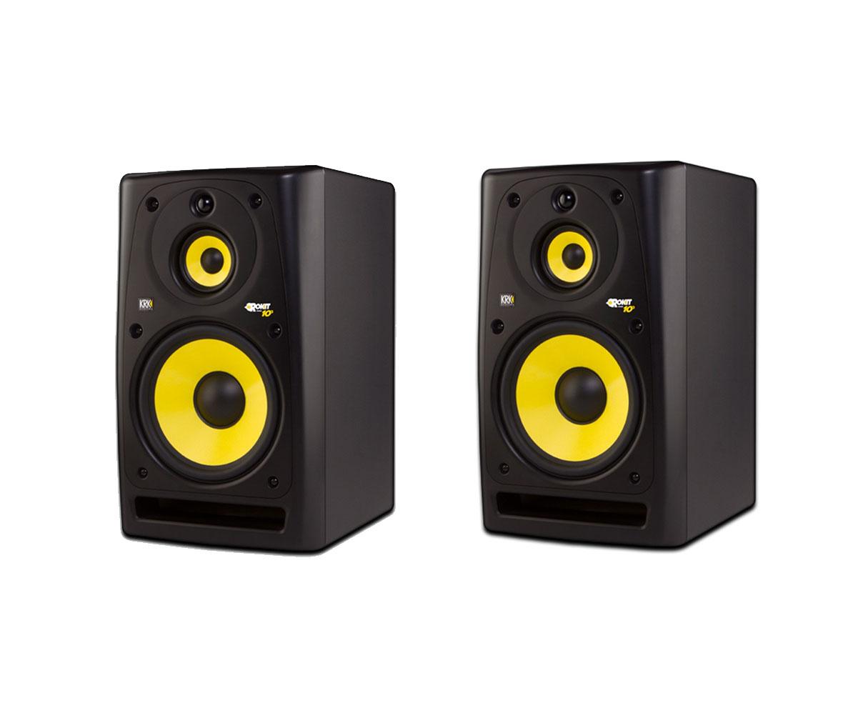 2x krk rokit powered 10 3 rp10 3 proaudiostar pair ebay. Black Bedroom Furniture Sets. Home Design Ideas