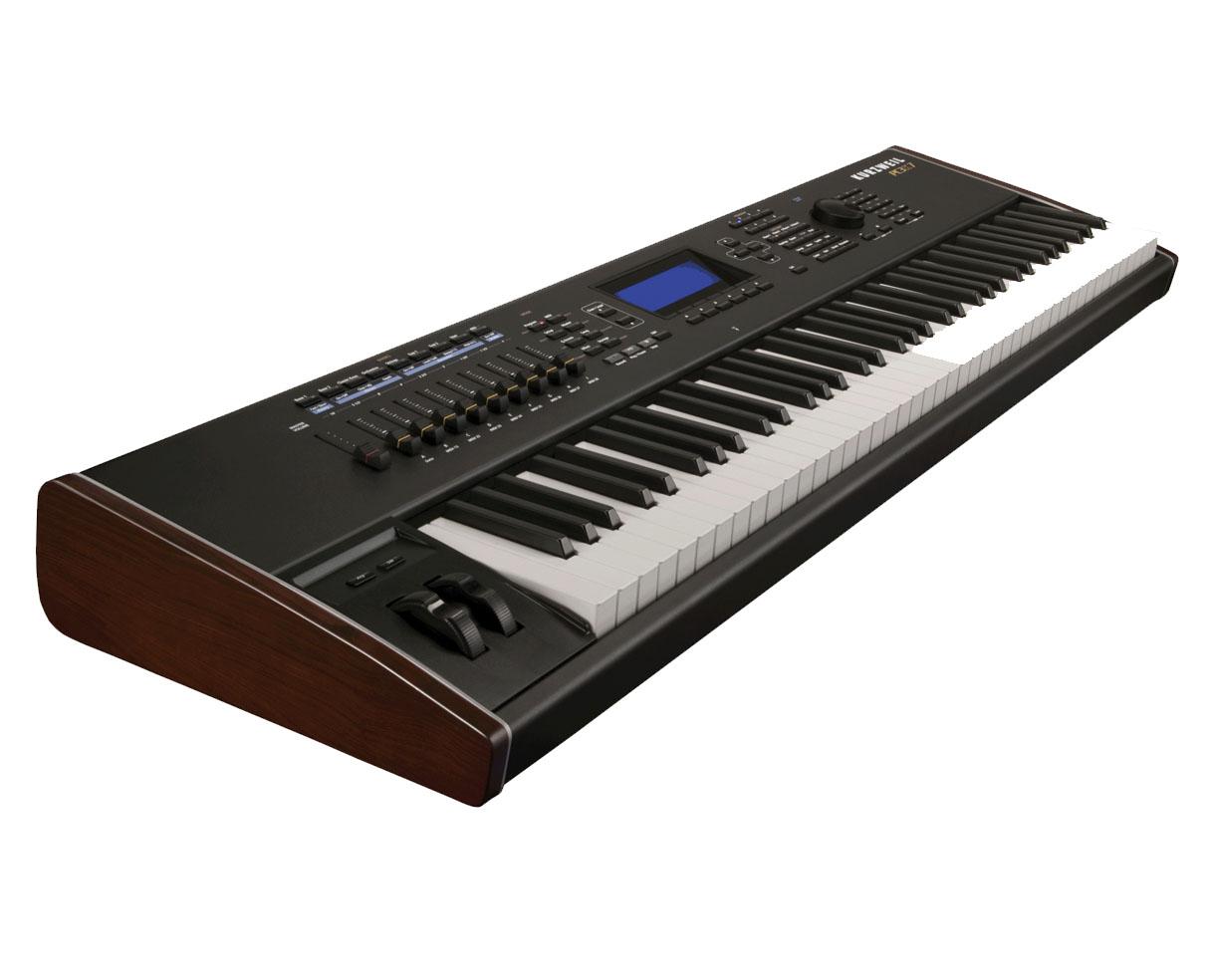 kurzweil pc3k7 pc3 k7 76 key controller key board keyboard proaudiostar ebay. Black Bedroom Furniture Sets. Home Design Ideas