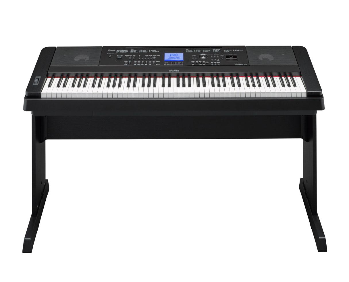 yamaha dgx660b dgx 660 88 key ensemble digital piano w. Black Bedroom Furniture Sets. Home Design Ideas
