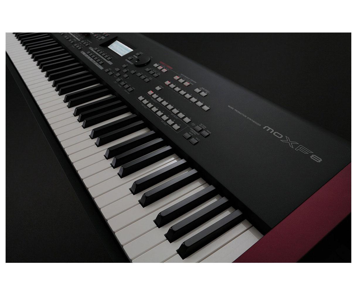 yamaha moxf8 88 key keyboard workstation motif xf8 sound