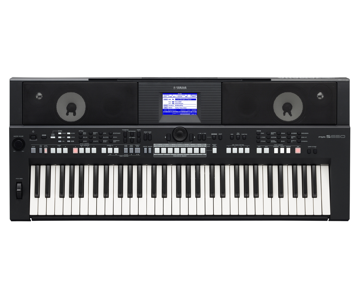 Yamaha psr s650 psrs650 61 key portable sequencer arranger for Yamaha professional keyboard price