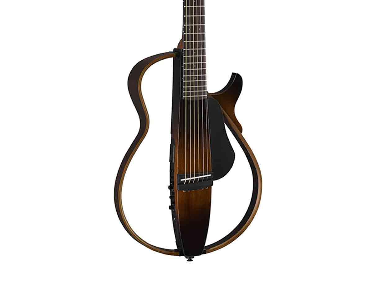 Yamaha slg200s steel string silent guitar tobacco for Yamaha slg200s steel string silent guitar
