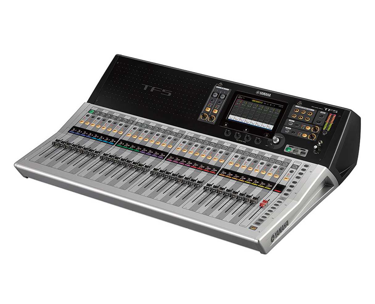 Yamaha Tf5 48 Input 33 Motorized Fader Mixing Console W