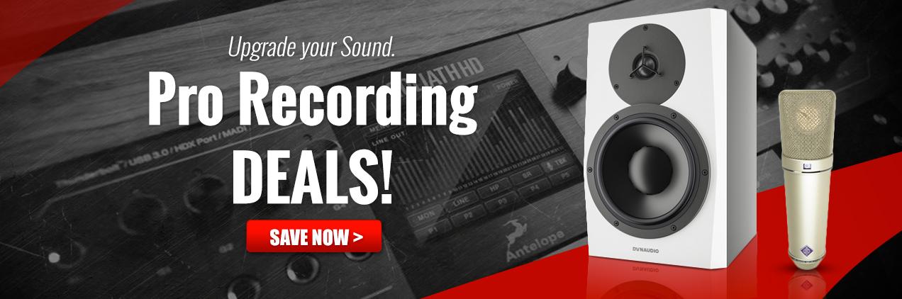 High-end Recording Gear